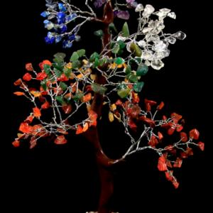 300 Chip Mixed Gemstone Tree
