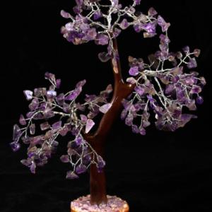 300 Chip Amethyst Gemstone Tree