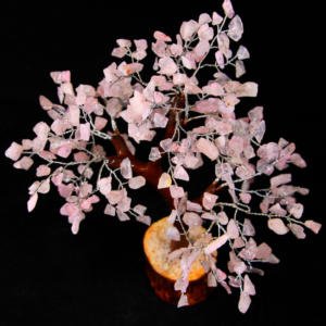 300 Rose Quartz Chip Tree