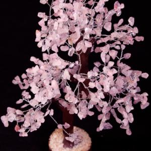 500 Chip Rose Quartz Tree