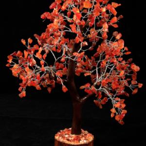 500 Chip Red Carnelian Tree