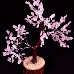 Rose Quartz 160 Chip Tree