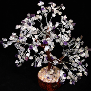 300 Chip Crystal and Amethyst Tree