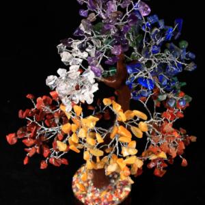 500 Chip Assorted Gemstone Tree