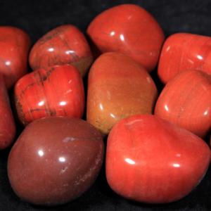 1lb of Tumbled Large Red Jasper (33mm-50mm)