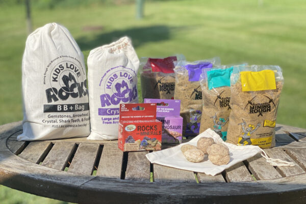 Summer Activity kit of mining and dig kits with gemstones