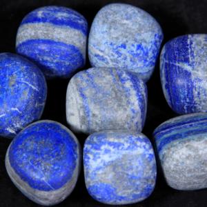 1lb of Tumbled Large Lapis Lazuli (33mm-50mm)