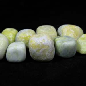 1lb of Tumbled Large Serpentine (33mm-50mm)