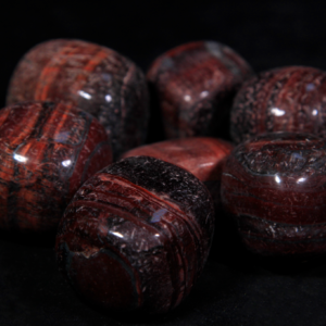 1lb of Tumbled Large Red Tiger Eye (33mm-50mm)