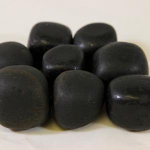 1lb of Tumbled Black Tourmaline, Large (33mm-50mm)