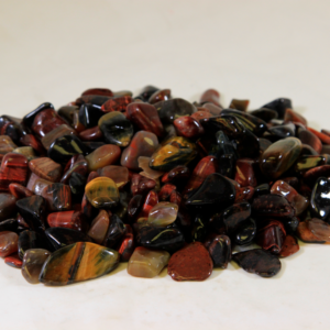 1lb of Tumbled Red Tiger Eye