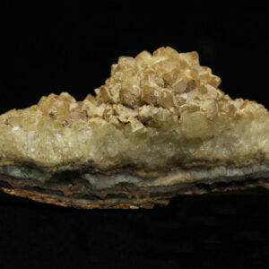 Small Yellow Amethyst Cluster