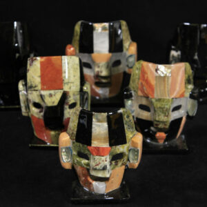 Assorted Mayan/Aztec Decorative Inlay Masks