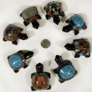 Assorted Inlaid Turtles