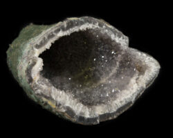 Cave-shaped Smokey Amethyst Geode