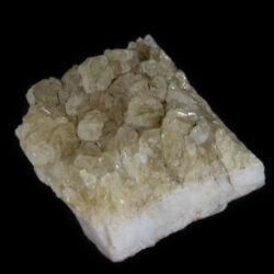 Square-shaped Citrine Druze Crystal