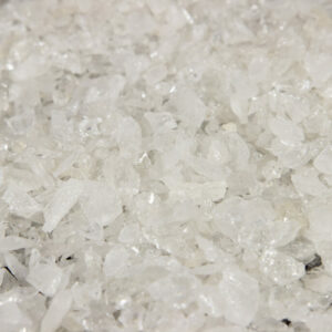 Clear Quartz Gravel - One Pound Mix