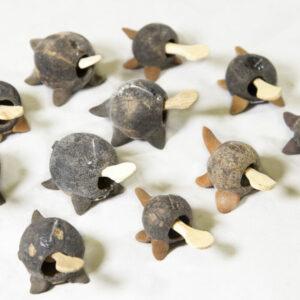 LooseNeck Unpainted Turtles - Five Pack