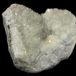 Heart Shaped Prasiolite - Rare Green Amethyst!